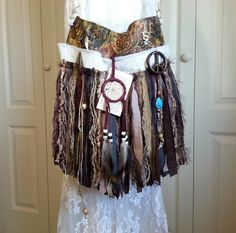 Hippie Gypsy Fringe Bag  Bohemian Hippie Fringe Bag  by Pursuation, $69.00