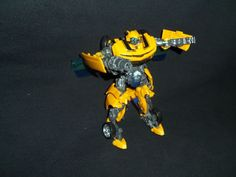 Transformers Bumblebee Action Figure Revenge of the Fallen Loose Free Shipping #Hasbro