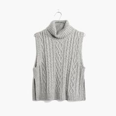 hint, hint – this Madewell turtleneck sweater-vest is on my wishlist #giftwell