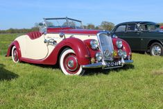 1947 Riley RMA Vintage Auto, Vintage Cars, Antique Cars, Lamborghini, Ferrari, Jaguar, Peugeot, Benz, Car Hood Ornaments
