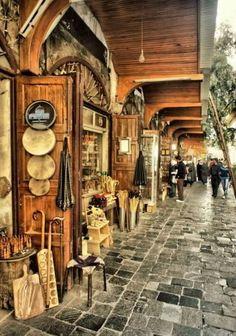 Old city Damascus Syria - Alkabbaaqbih east of the Umayyad Mosque