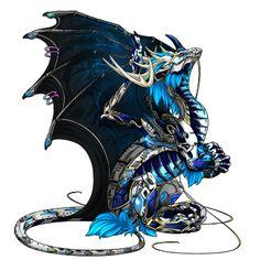 MiddyLark's dragon Crystal - Breed, raise, and train dragons on Flight Rising!