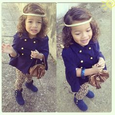 So cute!! Reminds me of my niece!!!