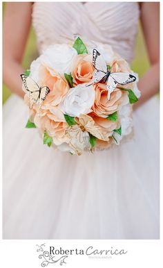 Buquê de papel de seda da Nara - Tissue paper bouquet - Bouquet di Carta Velina