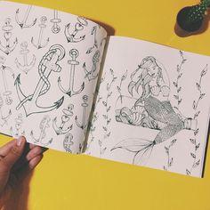 I'm a goddamn mermaid ❤️ @adoredelano  #LivroDoSossego