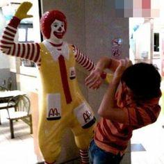 Bad Ronald!