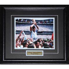 Midway Diego Maradona Team Argentina 8x10-inch Frame