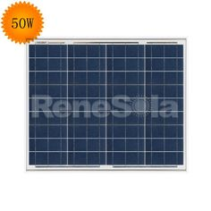 QXPV 50W Polycrystalline Solar Panels,China - ReneSola - Green Energy Products