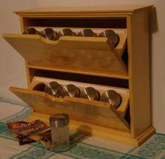 Шкафчик для специй своими руками