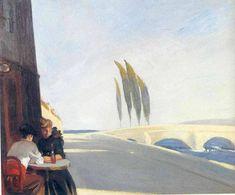 Edward Hopper — Bistro, 1909, Edward HopperSize: 59.31x72.39 cm...