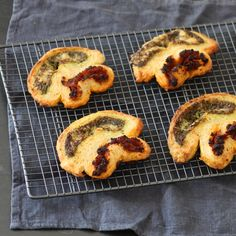 Who else fancies having a go at these pesto and sun-dried tomato palmiers from The Great British Bake Off?!