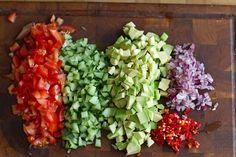 Salata de naut cu avocado | Rețete - Laura Laurențiu