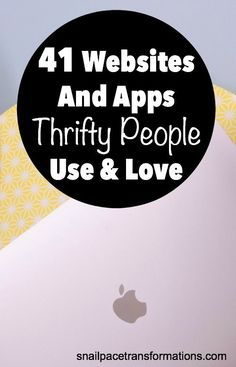 41 websites & apps thrifty people use to save money. If you want to trim your budget you are going to want to know about these websites and apps. Budgeting Finances, Budgeting Tips, Saving Ideas, Money Saving Tips, Frugal Family, Frugal Living, Ways To Save Money, How To Make Money, Money Talks