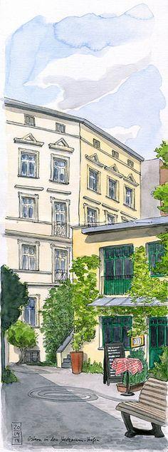 Heckmann-Höfe, Berlin-Mitte by KatrinMerle, via Flickr
