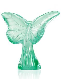 Lalique Butterfly Rosee, green