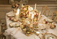 Apparecchiare la tavola di Natale - Tavola classica di Natale