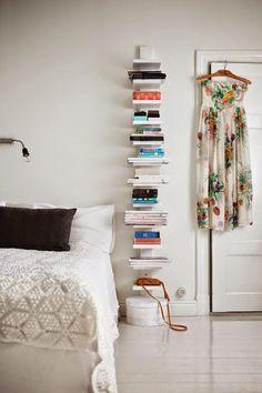 Tuesday Tips - adding colours White Bedroom  Mokkasin