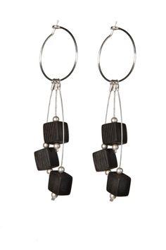 Static Hoop Earrings by miostudio on Etsy, $45.00