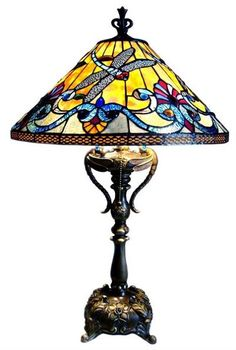 Tiffany Lamps, their bases can be just a beautiful as the top