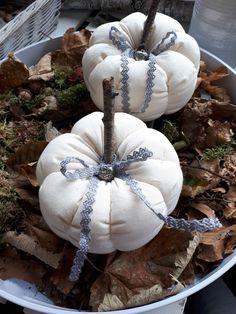 Shabby Kürbis zur Dekoration für den Herbst findest du auf www.Flickenherz.de