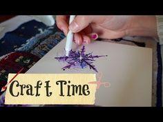 Making a snowflake. - YouTube