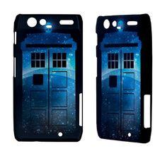 Tardis Doctor Who LG optimus 3d p920 Thrill 4g p925 p970, Motorola Droid Razr xt912 x x2, Sony Ericsson Xperia Arc S Dr Who Cool  Phone Case. $17.50, via Etsy.
