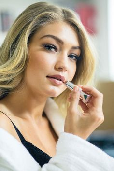 """""""I just finished all four seasons of Homeland and I just started Narcos which is about Pablo Escobar and his life. I'm on the 3rd episode and I'm obsessed."""" - Gigi Hadid"""