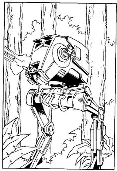 91 Best starwars coloring pages images in 2016   Coloring book ...