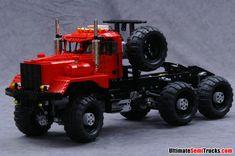Lego Kenworth 953 6x6 Oil Field Truck by Ingmar Spijkhoven