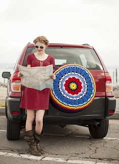 Ravelry: Spare Tire Cosy pattern by Jennifer E. Ryan