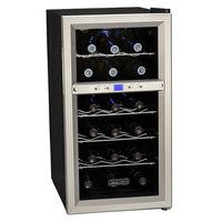 Thumbnail Image of Koldfront 18 Bottle Dual Zone Thermoelectric Wine Cooler