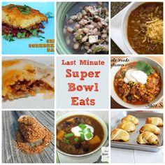 Last Minute Super Bowl Eats