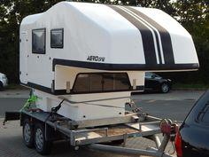 Aero one pickup camper, wohnkabine, demountable camper Diy Camper, Homemade Camper, Kombi Home, Pickup Camper, Trailer Build, Truck Camping, Pick Up, Campers, Recreational Vehicles