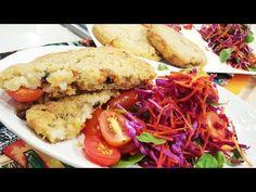 Milanesas de arroz con ensalada fresca - Recetas – Cocineros Argentinos