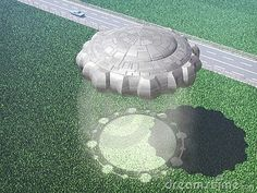 Alien UFO Caught On Camera Making Crop Circles For The First Time In Stu...