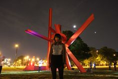 Love Mark di Suvero's steel Iroquois sculpture near the Philadelphia Museum of Art.