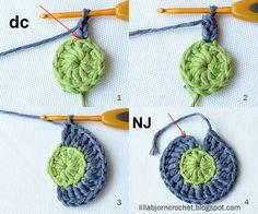 Circles of the Sun Mystery CAL 2015 - overlay crochet - Block 2 #free crochet pattern by LillaBjornCrochet