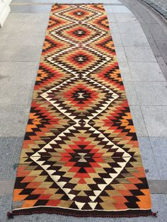 Navajo Weaving, Navajo Rugs, Tapestry Weaving, Hand Weaving, Long Runner Rugs, Kilim Runner, Turkish Pattern, Star Rug, Textiles