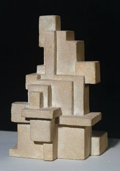 Georges Vantongerloo, 'Interrelation of Volumes' 1919