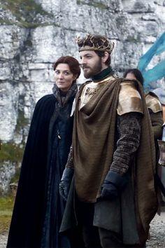Game of Thrones - Catelyn Stark & Renly Baratheon