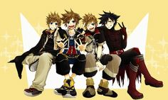 kingdom hearts roxas and ventus difference | KH - sora, roxas, ventus, vanitas, kingdom hearts