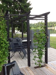 Examples of Backyard Pergolas That Cure Analysis-Paralysis Check out these 15 perfect pergola ideas.Check out these 15 perfect pergola ideas. Wooden Pergola, Backyard Pergola, Pergola Plans, Pergola Kits, Backyard Landscaping, Pergola Ideas, Cheap Pergola, Pergola Roof, Covered Pergola