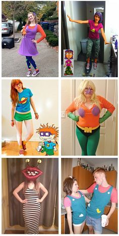 18 Fun and Unique DIY Nickelodeon Halloween Costumes You Never Thought Of