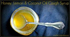 Honey and Lemon Cough Syrup with Coconut Oil Ingredients 3 tablespoons fresh squeezed lemon juice 1/4 cup local raw honey 2 tablespoons coconut oil D ... #ColdRemedies