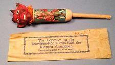 SCARCE Antique Vintage Halloween DEVIL Noisemaker Germany c1910s-30s NM pcnm