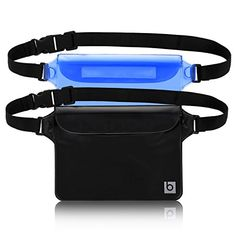 Waterproof Pouch with Waist Strap (2 Pack) | Best Way to ...