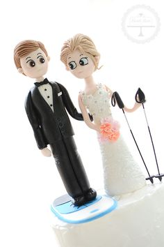 Wedding cake topper - fully personalised and handcrafted from sugar