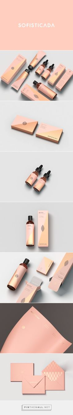 Sofisticada Skincare Packaging design by RCVS (Colombia) - http://www.packagingoftheworld.com/2016/07/sofisticada.html