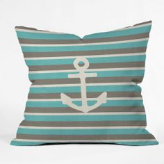 cute anchor pillow