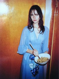 W - juergen teller Never saw this photo of Tasha Tilberg before. Absolutely angelic
